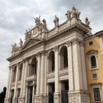 Saint John Lateran basilica in Rome