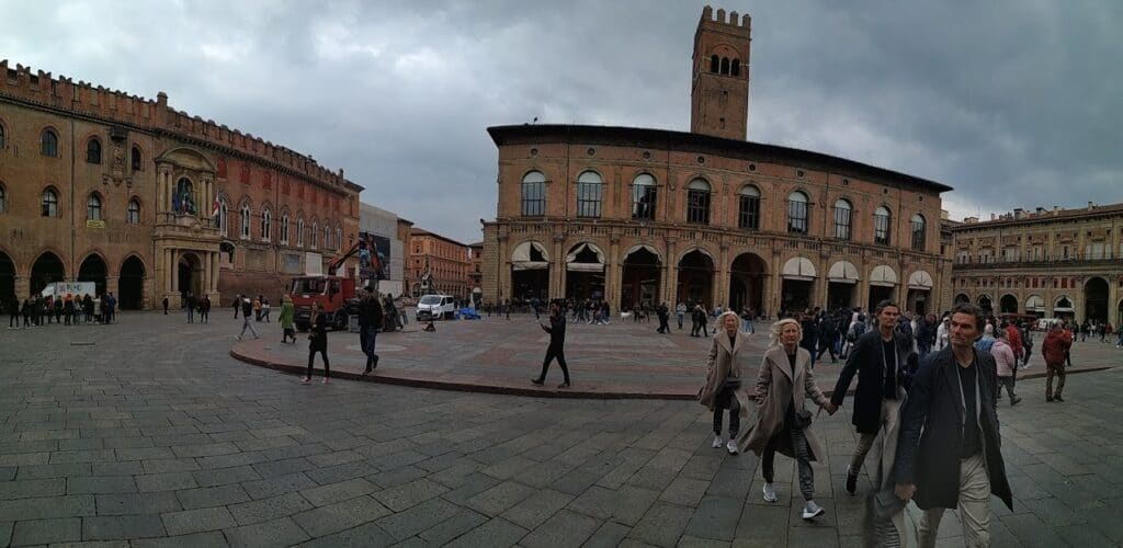 Visit Piazza Maggiore in Bologna on a day-trip from Rome